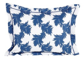 Image of Navy Blue Pillow Shams