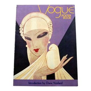 1970s Vintage Vogue Poster Book of Art Prints For Sale