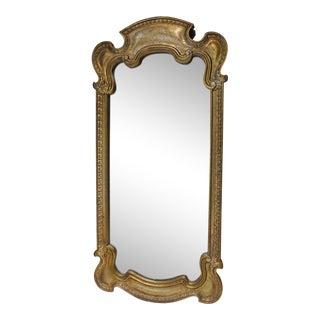 1940s Vintage Gold Framed Mirror