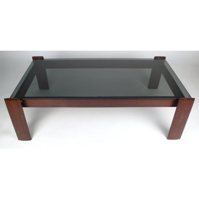 Percival Lafer Percival Lafer Coffee Table in Jacaranda Rosewood For Sale - Image 4 of 10