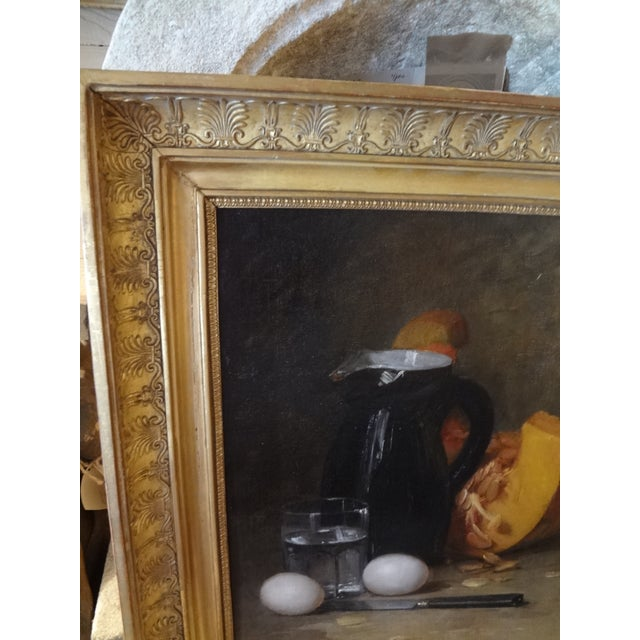 French Still Life 19th Century Painting For Sale - Image 9 of 11