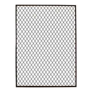 Antique Primitive Industrial Woven Wire Window Security Guard For Sale