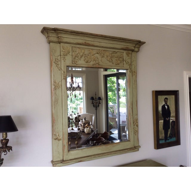 Farmhouse Collection Hand-Painted Mirror - Image 2 of 6
