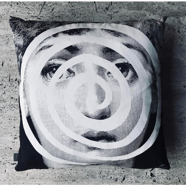 Modern Fornasetti Pillow From the Collection Theme and Variations For Sale - Image 12 of 12