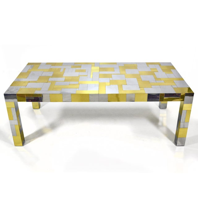 Directional Paul Evans Cityscape Dining Table For Sale - Image 4 of 10