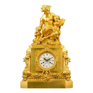 French Mantel Clock by Thomire & Moinet For Sale