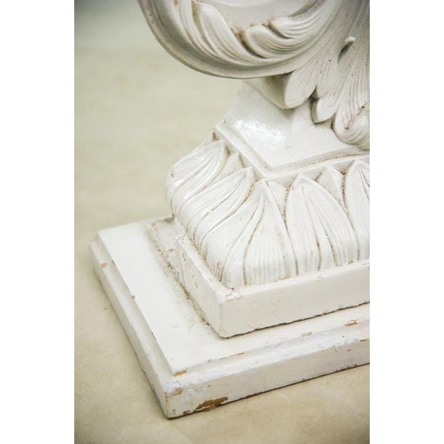 Nautical Seashell White Lacquered Entryway Table - Image 10 of 11