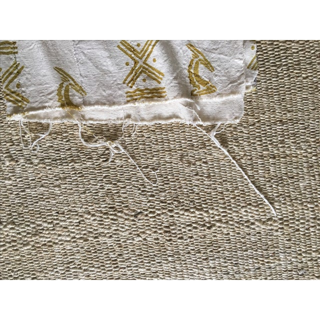 Mali Gold Block Textile / Mudcloth For Sale In Los Angeles - Image 6 of 6