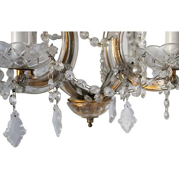 Maria Theresa Crystal Chandelier - Image 5 of 5