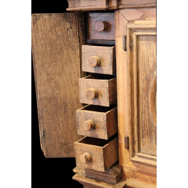 Unusual 18th Century Wall Cabinet - Image 3 of 3