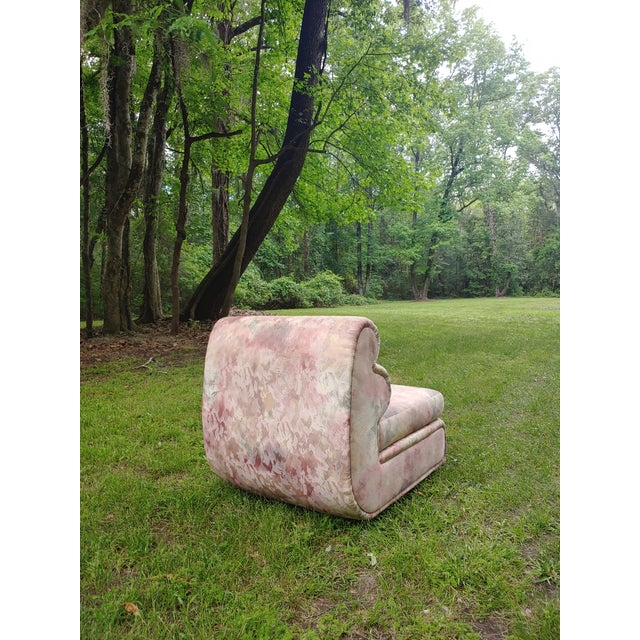 Wood 1980s Carsons Postmodern Sculptural Chair For Sale - Image 7 of 10