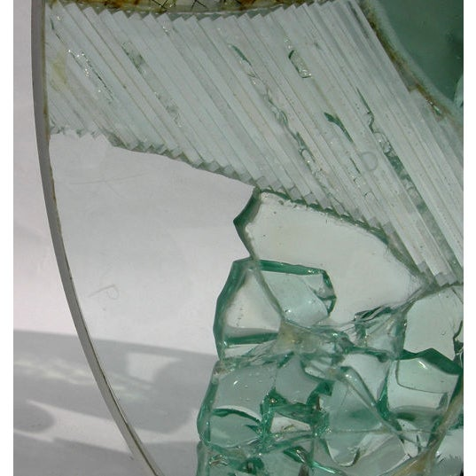 Large Free Standing Glass Sculpture by Kamp - Image 4 of 8