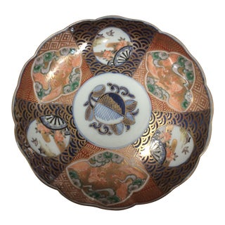 Antique 20th Century Imari Plate For Sale