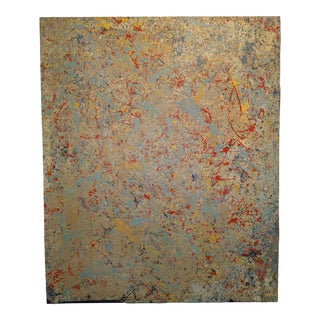 "2016 ""#7"" Abstract Expressionist Acrylic Painting by John Frates For Sale"