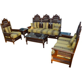 19th-C. Fine Moorish Salon Suite, 6 Pcs Preview