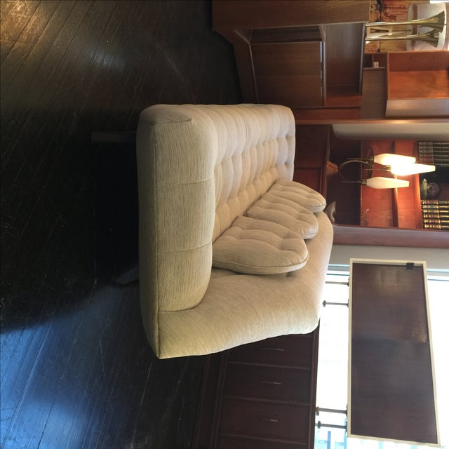 Adrian Pearsall Tufted Gondola Sofa - Image 5 of 8