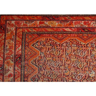 1880s, Handmade Antique Collectible Persian Mishan Malayer Rug 2.3' X 3.7' Preview