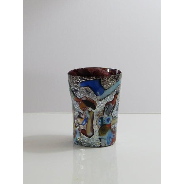 Art Glass Custom Murano Drinking Glasses - Set of 6 For Sale - Image 7 of 9