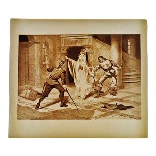"""Art I Puritani"" Bellini Opera Henry T Carris Photogravure For Sale"