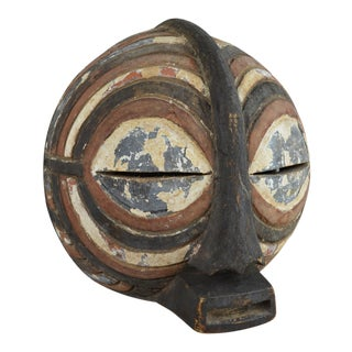 Early 20th Century African Kifwebe Mask of the Luba Culture