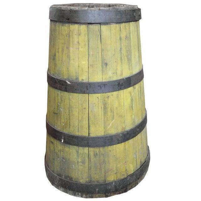 19th Century Wood and Iron Graduated Barrel - Image 2 of 5