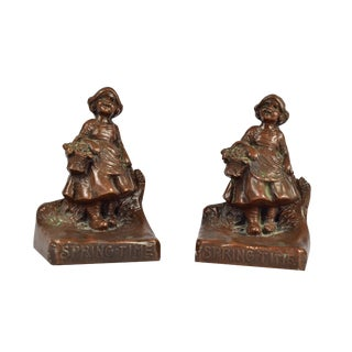 Weidlich Brothers Springtime Bookends - A Pair