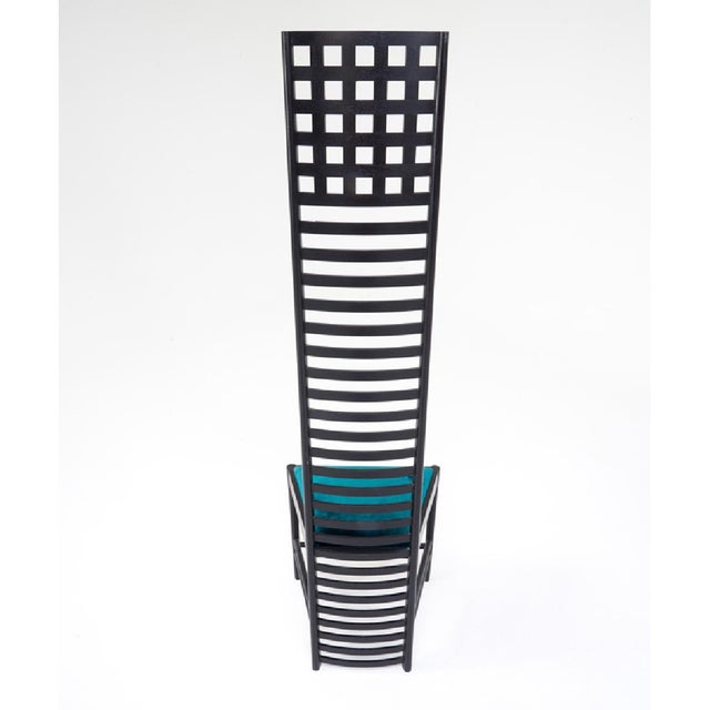 Contemporary Charles R. Mackintosh Cassina Ladder Back Chairs - A Pair For Sale - Image 3 of 5