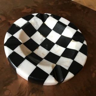 Italian Marble Checkered Ashtray Preview