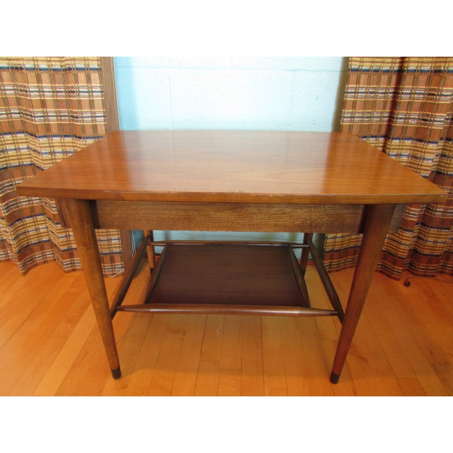 Mid-Century Modern Wood End Table - Image 5 of 8
