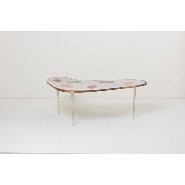 1950s Vintage Boomerang Coffee Table by Berthold Müller For Sale - Image 5 of 11