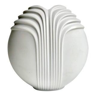 Vintage Rosenthal Art Deco Ceramic Vase For Sale