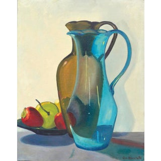 Two Pitchers and Fruit Still Life For Sale