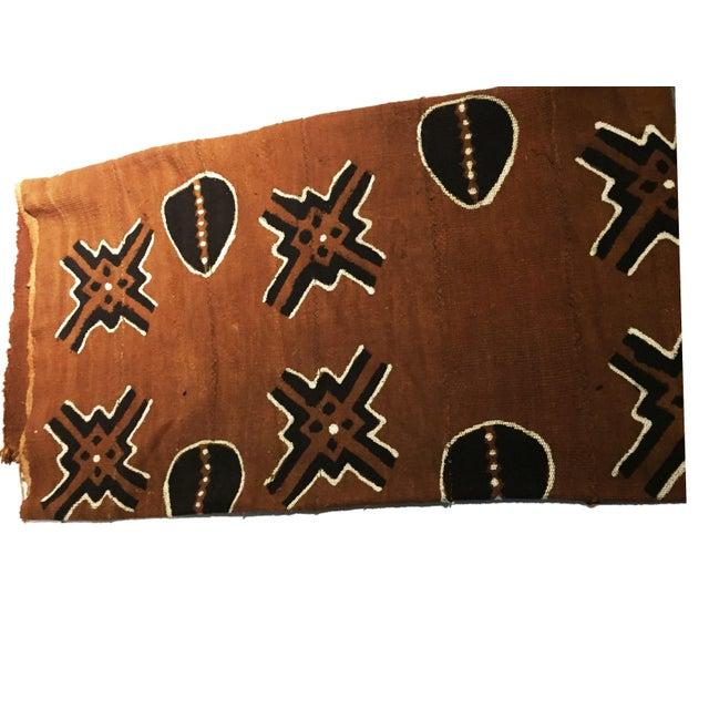 1970s Bogolan Mali Mud Cloth Textile For Sale - Image 5 of 11