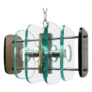 Accordion Pendant Light For Sale