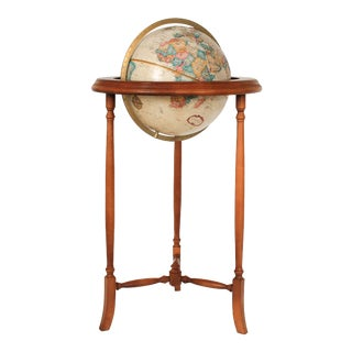 Mid-Century Replogle Floor Globe For Sale