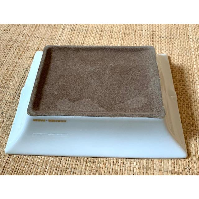 Hermes France Cacao Ashtray/Trinket Dish For Sale In New York - Image 6 of 10