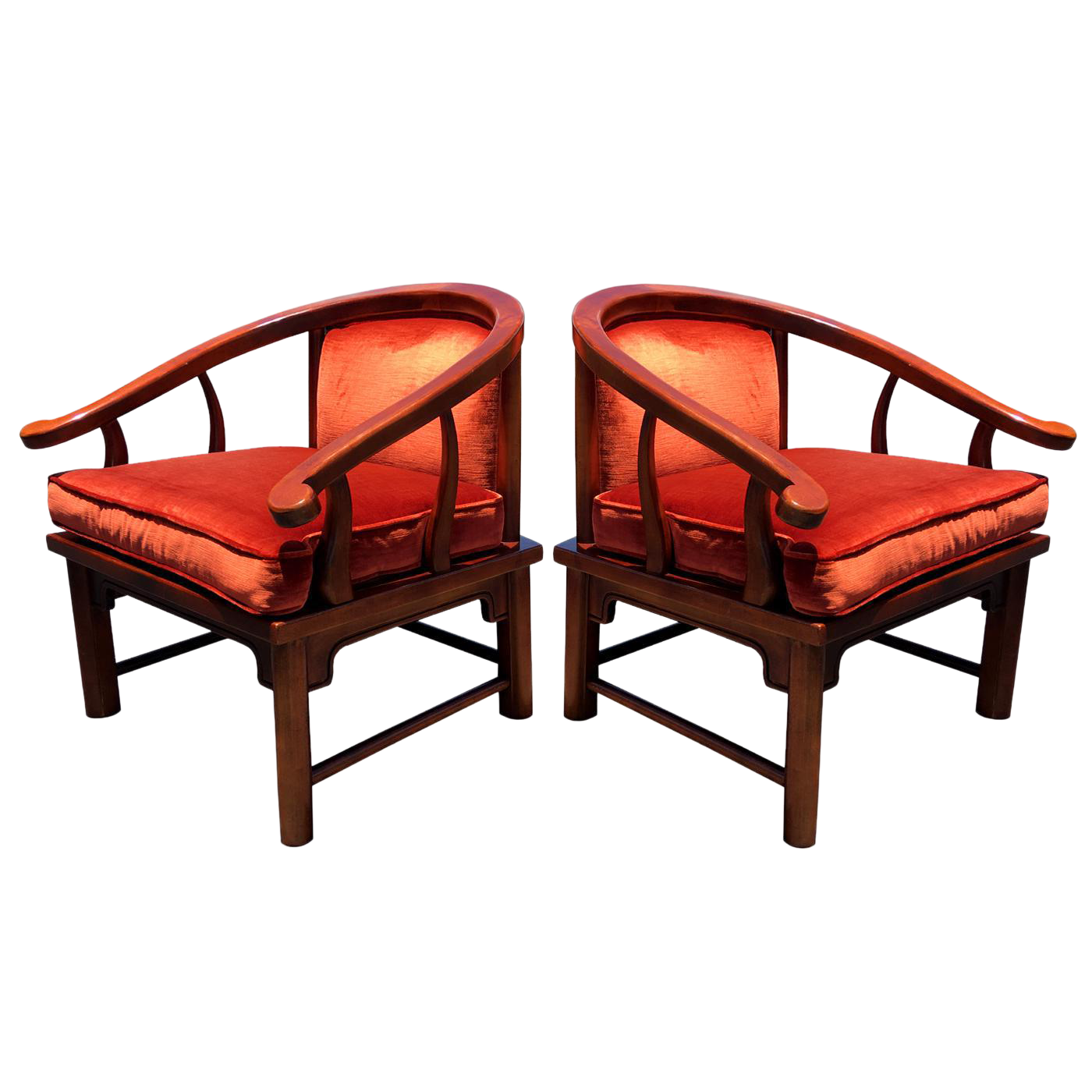 Vintage Ming Lounge Chairs By Century Chair Company For Sale