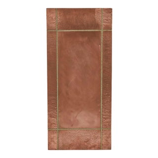 Mid Century French Copper and Brass Panel For Sale