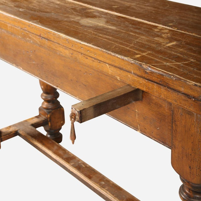 French Folding Console Table For Sale In Atlanta - Image 6 of 8