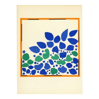 """Lierre"" - Henri Matisse. From ""Verve Vol. 35/36"" (1958) For Sale"