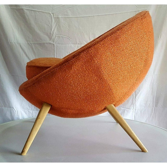 Jean Royere-Style Egg Chair - Image 4 of 5