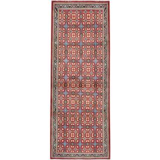 """Vintage Persian Modernist Kashan Rug – Size: 2' 5"""" X 6' 4"""" For Sale"""