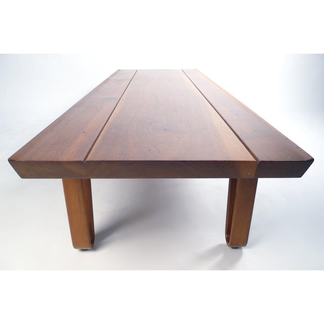 Edward Wormley Long-John Bench by Edward Wormley for Dunbar For Sale - Image 4 of 6