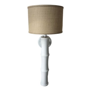 Dunes and Duchess Tiki Sconce with Shade For Sale