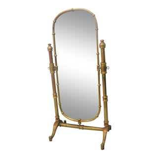 Hollywood Regeny Gold Dressing Mirror For Sale