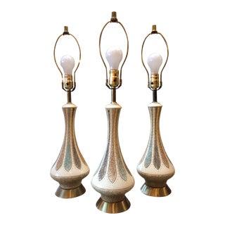Mid-Century Quartite Creative Group Lamps - Set of 3 For Sale