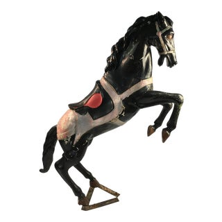 Vintage Paper Mache Horse For Sale