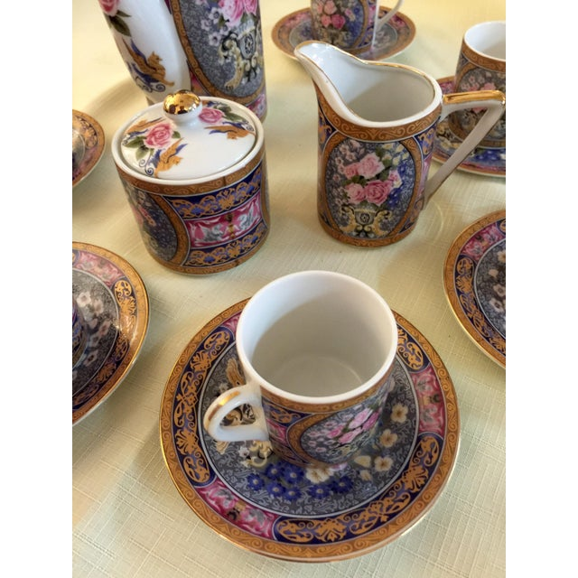 Vintage Demitasse Tea Set - Set for 6 - Image 3 of 6