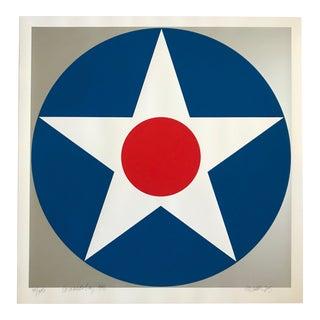 1975 Pop Art Chuck Smith Coronado Bay Insignia Silkscreen For Sale