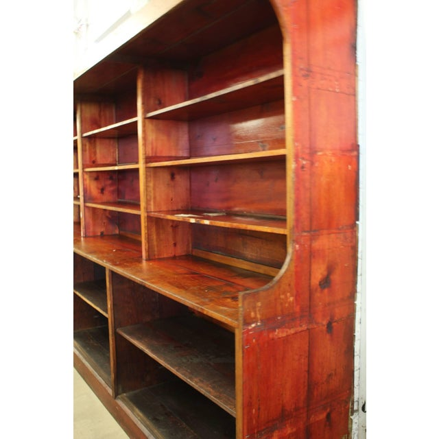 Vintage Mid 20th Century American Department Store Shelves For Sale - Image 4 of 5
